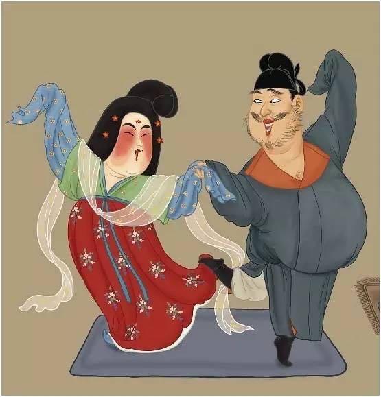 涨姿势: 杨贵妃是如何变成胖美人的图片
